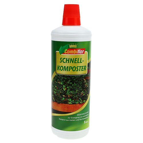 Compostador rápido combiflor 1 l