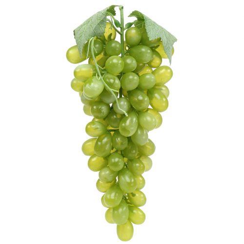 Deco uvas verdes 25cm