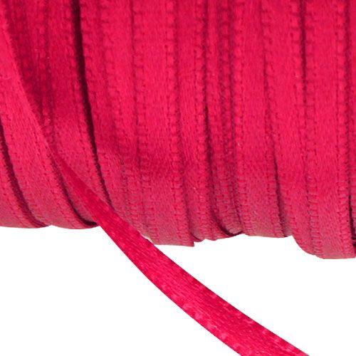 Cinta de regalo y decoración 3mm x 50m Rosa