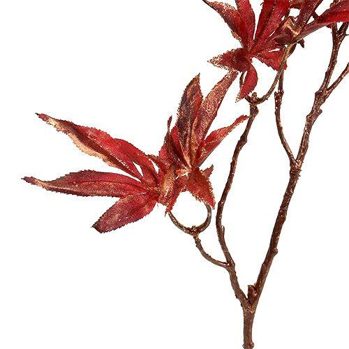 Deco rama roja oscura con mica 52cm