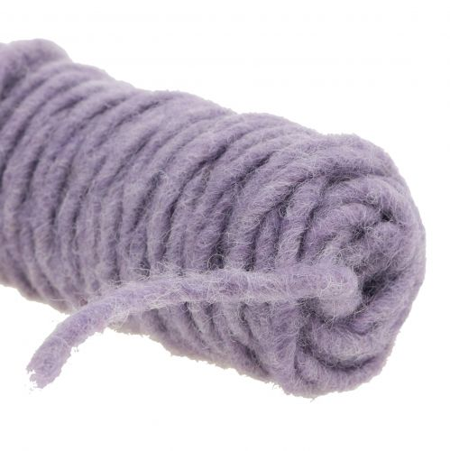 Mecha hilo fieltro cuerda violeta 55m