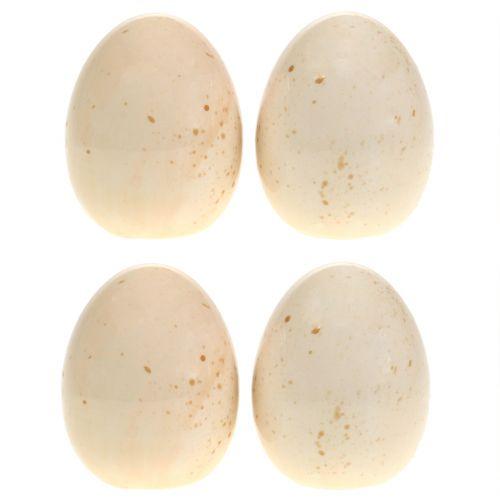 Huevos de cerámica decorativos H8.5cm 4pcs