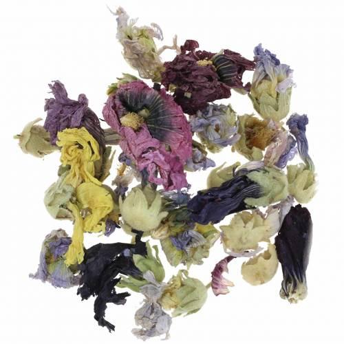 Set de artesanía decoración en seco Echter Eibisch Natur popurrí de flores 300g