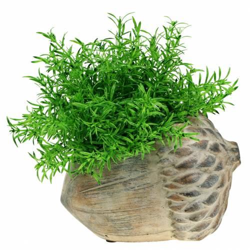 Jardinera de hormigón bellota 21.5cm × 14cm H9.5cm