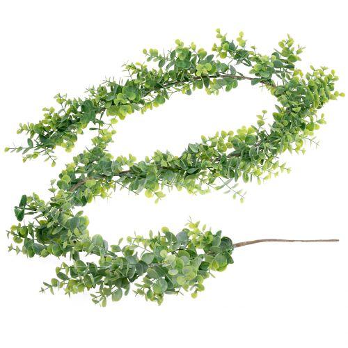 Guirnalda de eucalipto verde 150cm