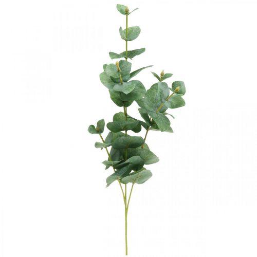 Rama de eucalipto Planta verde artificial Decoración de eucalipto 75cm
