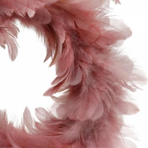Decoración de Pascua corona de primavera rosa vieja Ø18cm decoración de primavera