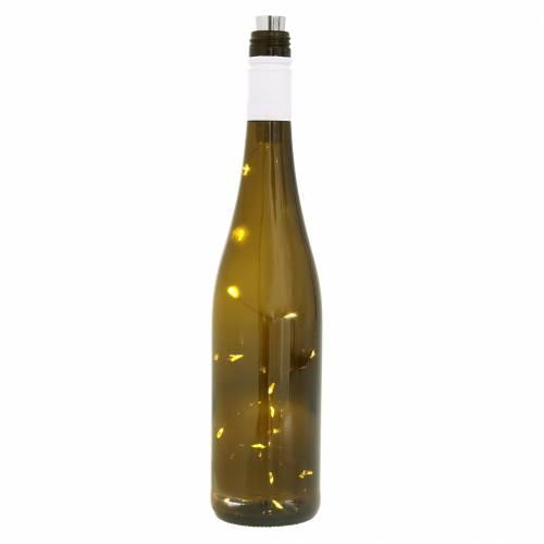 Botella de luz LED blanco cálido 73cm 15L