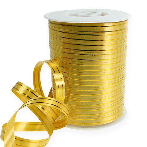 Splittband 2 franjas doradas sobre oro 10mm 250m