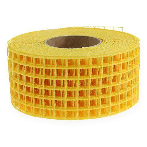 Cinta de malla 4.5cm x 10m amarilla