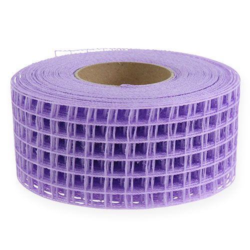 Cinta de malla 4,5cmx10m violeta