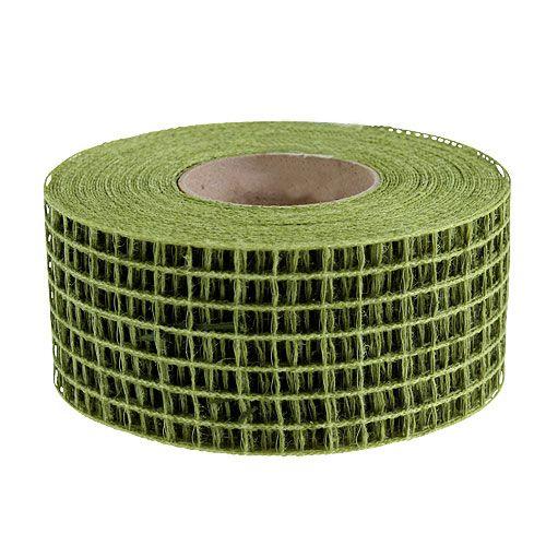 Cinta de malla 4.5cm x 10m verde musgo
