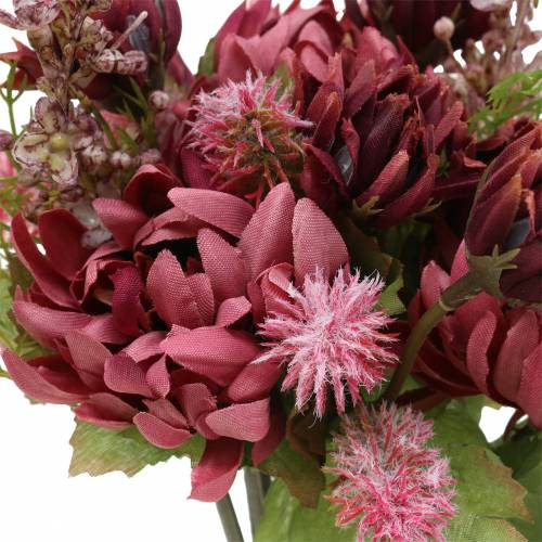 Ramo de Crisantemos Mix Purple 35cm