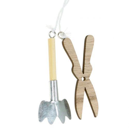 Percha de madera utensilios de jardín 5pcs