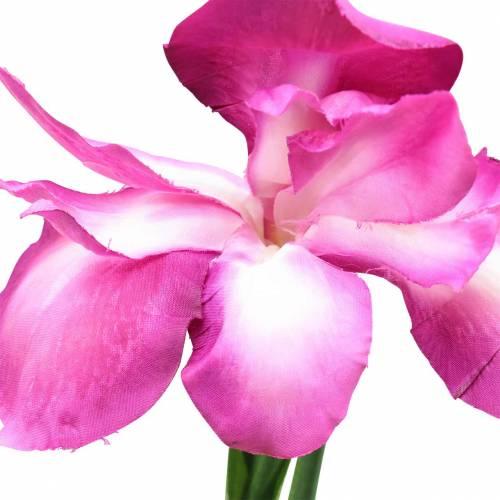Iris artificial Rosa 78cm