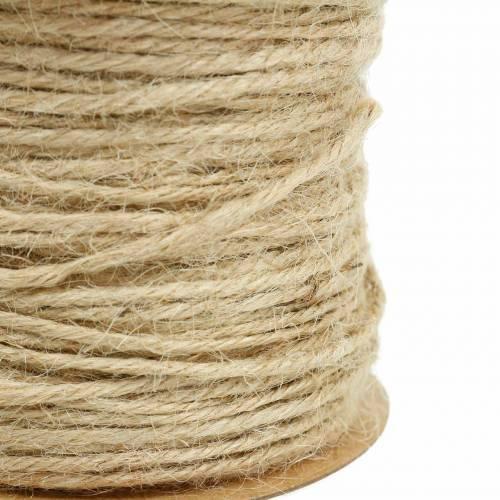 Cordón de yute natural Ø2mm 50m