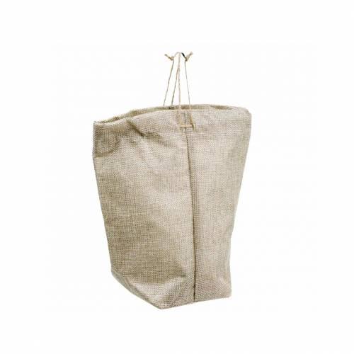 Bolsa de yute 13,5 × 11cm H25cm