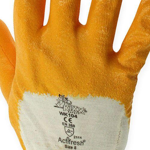 Guantes de trabajo Kixx talla 8 amarillo