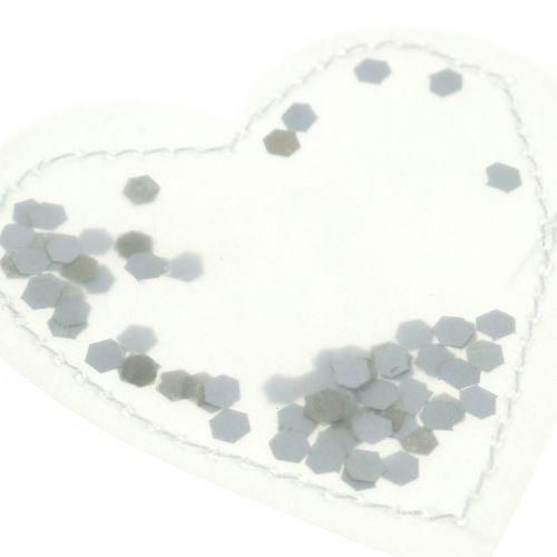 Confeti corazón 5cm 24pcs