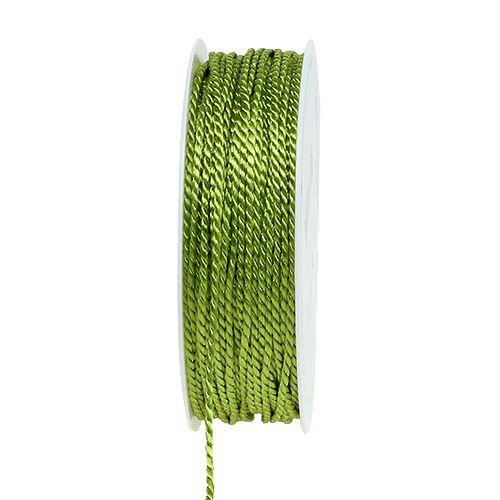Cordón Verde 2mm 50m