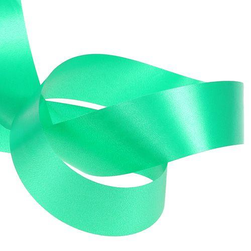 Cinta rizadora 40mm 100m verde