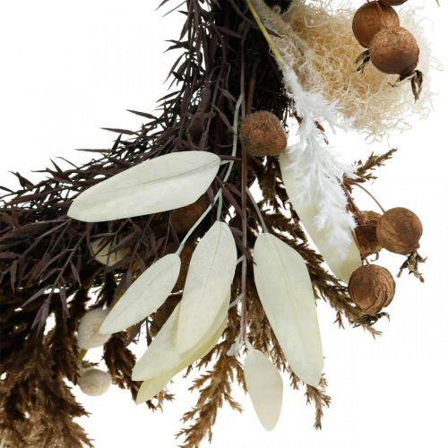 Guirnalda decorativa guirnalda puerta hierba seca artificial y frutas Ø50cm