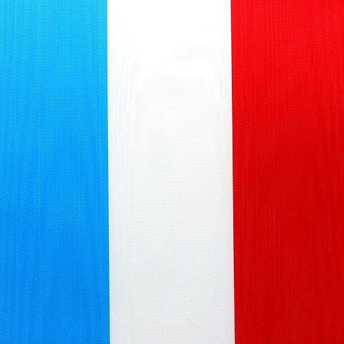 Cinta de guirnalda moiré azul-blanco-rojo