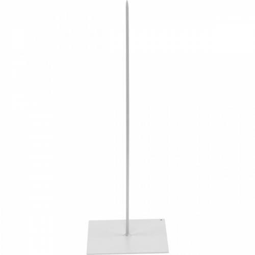 Soporte para guirnalda Soporte para guirnalda de metal blanco Al.30cm