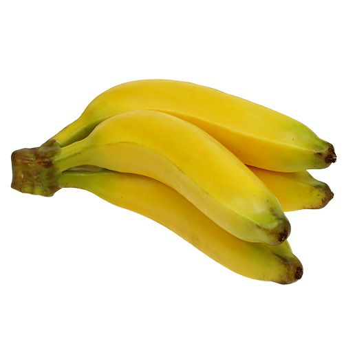 Manojo de plátano artificial amarillo 23cm