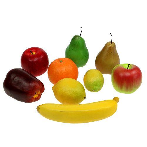 Frutas se mezclan en la red