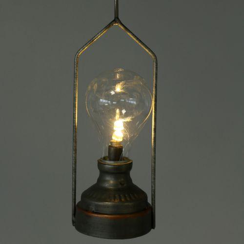 Lámpara decorativa con gancho Ø7cm H60cm