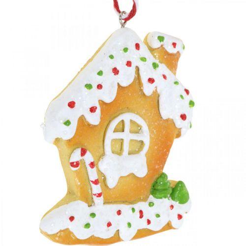 Casa de pan de jengibre H9cm 3 piezas