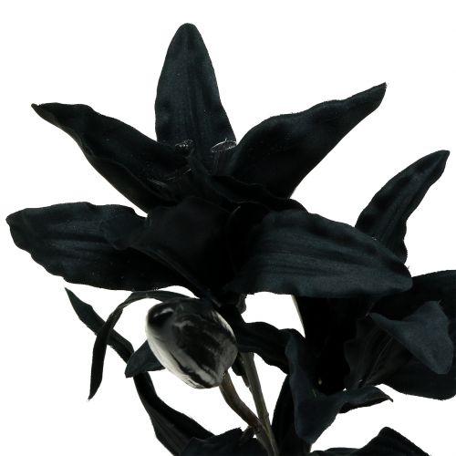 Flor Artificial Lirio Negro 84cm