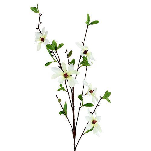Magnolia rama blanco-verde 94cm