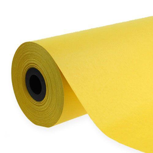 Puño de papel 37,5cm 100m amarillo