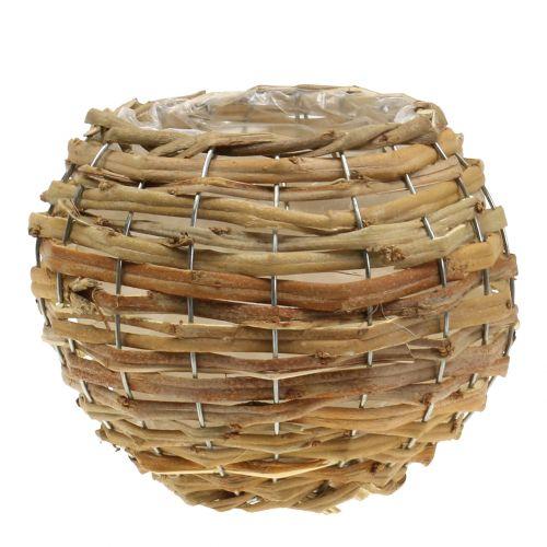 Baloncesto para plantar marrón claro Ø21cm
