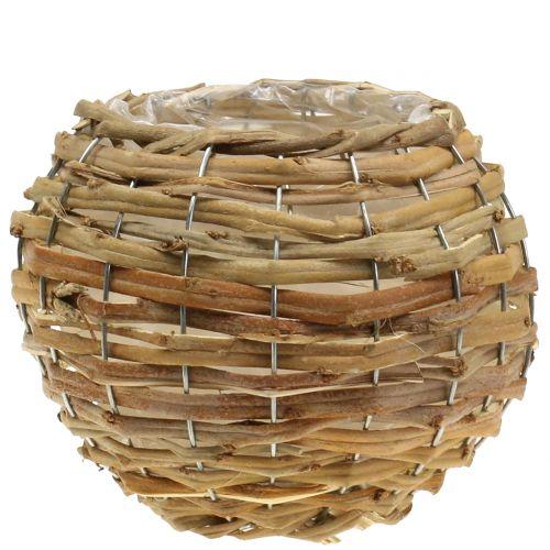 Baloncesto para plantar marrón claro Ø25cm
