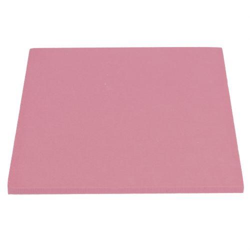 Paneles de diseño de espuma floral tamaño plug-in rosa viejo 34,5 cm × 34,5 cm 3 piezas