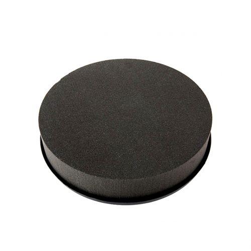 Cilindro de espuma floral negro negro Ø15cm H5cm 2pcs
