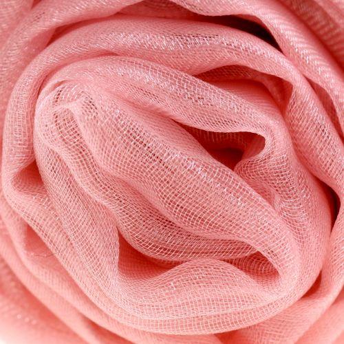 Tela decorativa Organza rosa antiguo 150cm x 300cm