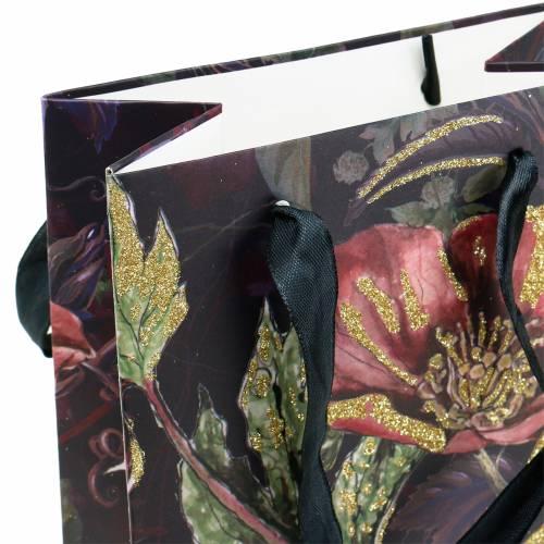 Bolsa de regalo para botellas flores 8,5cm x 14cm H36cm