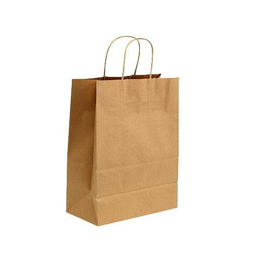 Bolsa de papel 23x12x30cm 50pcs