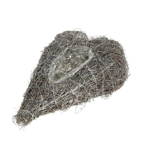 Planta corazón de vid blanco 27cm x 17.5cm 1pc