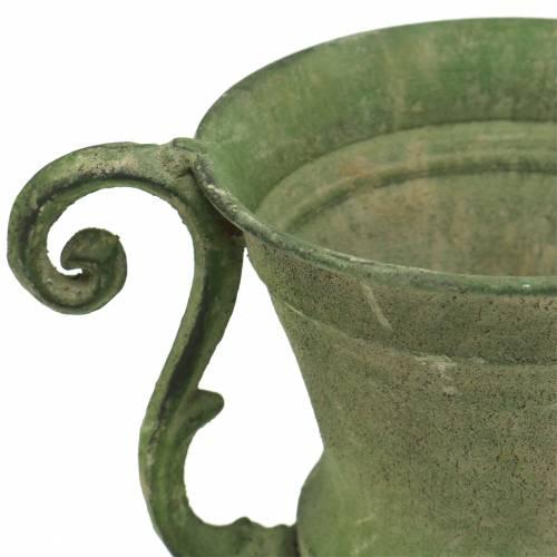 Taza cuenco verde Ø11cm H19cm