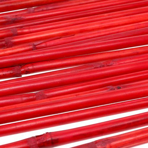 Asas de ratán rojo 100cm 20p.