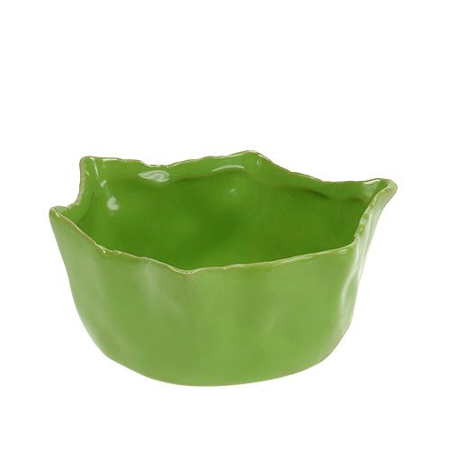 Tazón de cerámica en verde Ø13cm H6cm