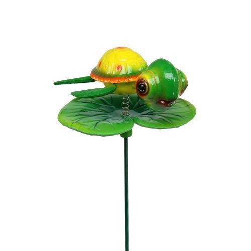 Tortuga como enchufe de jardín 66cm