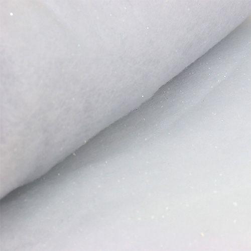 Cubierta de nieve con mica 120x80cm