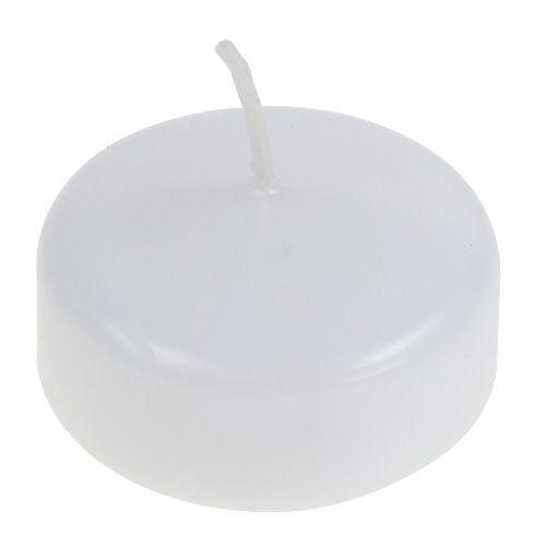Velas Flotantes Blancas 4,5cm 8pcs