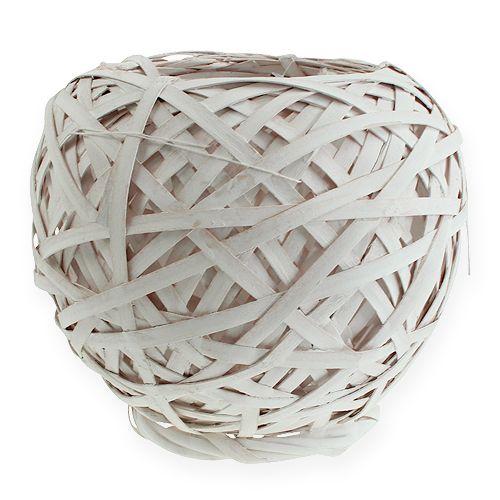 Spank basket redondo blanco 25cm